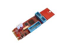"Tarjeta Controladora M2 - 4 puertos USB3 - M.2 NGFF ""B + m Key"" - Chipset NEC"