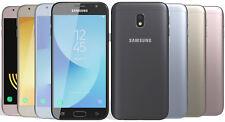 ��овый Samsung Galaxy J3 2017 SM-J330F 16 ГБ разблокированный 4G LTE 13MP золотой черный синий