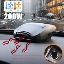 Portable Car Auto Cooling Heater Fan Defroster Demister Fan Heater Demister NEW