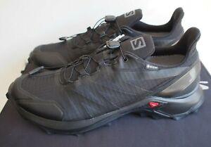Salomon Mens Supercross GTX Trail Running Shoe - Black