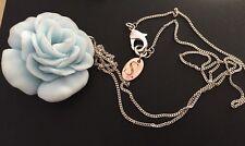 Tres Beau Collier Rose Bleu en resine Les Bijoux De Sophie
