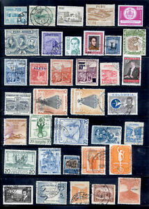 SOUTH AMERICA 117 Stamps Lot Used