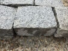 Silver Grey Granite cobble stones / setts 200 x150 x 100mm approx ONLY £1.25 !!!