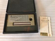 Environmental Tectronics Corp Psychro-Dyne Battery-Operated Psychrometer Chart