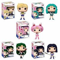 Funko Pop Sailor Moon Figure Ornament Action Models Collectible Toys With BOX