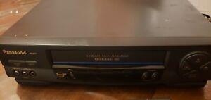 Panasonic 4 Head Hi-Fi Stereo VCR VHS Recorder Player PV-9451 Heads Cleaned!