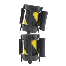 2xQueue Stanchion Crowd Control Barrie Security Retractable Belt Color_1
