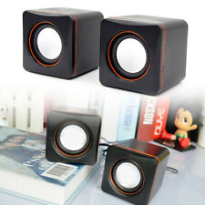 More details for pc portable computer laptop speaker multimedia  usb auxiliary power subwoofer