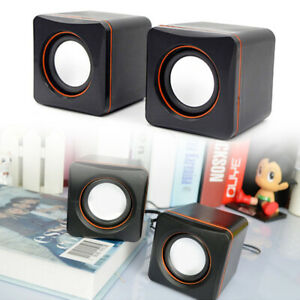 PC Portable computer laptop speaker Multimedia  USB auxiliary power subwoofer