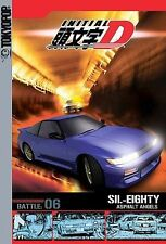 Initial D - Battle 6 - SIL-EIGHTY- Asphalt Angels- New DVD, FREE SHIPPING!