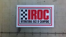 "Vintage IROC sticker decal 4.7""x2.7"""