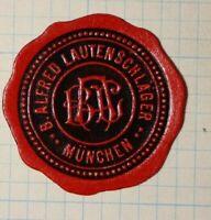 Alfredo Lautenschlager Munchen Germany WW Political & Patriotic Poster Stamp