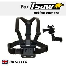 Chest Strap Harness Mount Holder for Isaw Edge Advance Air Extreme Action Camera
