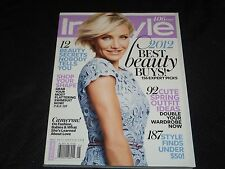 2012 MAY IN STYLE MAGAZINE - CAMERON DIAZ FRONT COVER - FASHION - J 2938