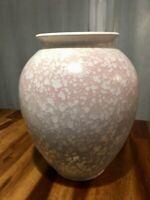 Vintage West Germany Bay Keramik Pastel Pink Blue Pottery Vase 650 26 Nice!