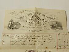 More details for 1883 robert scott & co gun & pistol makers middlesborough pictorial bill head
