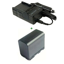 Battery + Charger For Canon XL1 XL1S XL2 XM1 XM2 GL1 GL2 BP-945 XH A1 XHA1 HDV