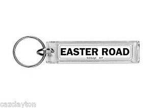 Hibernian Easter Road Street Sign / Keyring / Football Fc