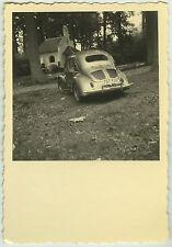 PHOTO ANCIENNE - VOITURE TRACTION 4CV RENAULT - CAR - Vintage Snapshot