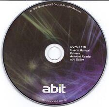 ABIT DRIVER CD TREIBER I-N73HD, I-N73H, I-N73V
