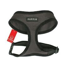 Genuine PUPPIA Soft Mesh Dog Harness Collar XXL Brown