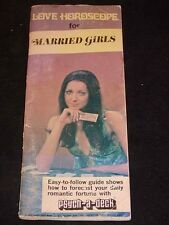 """""""Love Horoscope for Married Girls"""" Psych-A-Deck Instruction Booklet, c1970"""