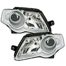 Vw Passat Mk5 3C 2005-2011 Headlights Headlamps 1 Pair O/S And N/S