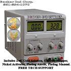 Digital 24K Gold/Chrome/Silver/Rhodium/copper/Nickel Plating Machine Kit , NEW