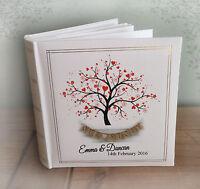 Personalised large luxury photo album, photo book, Wedding Engagement Valentine