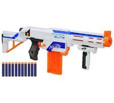 Nerf N-Strike Elite Retaliator Gun Blaster Shooter 27m Range White Foam Dart