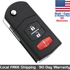 1x New Keyless Entry Remote Control Key Fob Case Shell For Mazda Cc43 67 5ryc Fits Mazda
