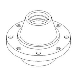 169293C11 New Steering Axle Hub Made Fits Case-IH Combine Models 1460 1480 +