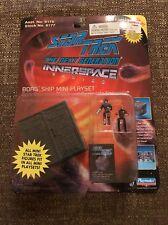 Star Trek TNG Innerspace BORG CUBE spaceship mini playset w/ Figures Playmates