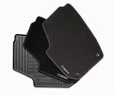 SKODA FABIA 2007 > 2014***BRAND NEW & GENUINE*** RUBBER FLOOR MATS 5J2061550