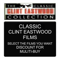 The Classic Clint Eastwood Collection - 19 Single Purchase Dvds - New & V/G