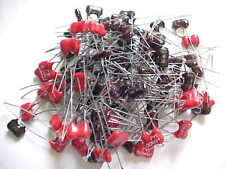 Variety Pack Of 100 Silver Mica Capacitors Nos (More Than 15 Different Values)