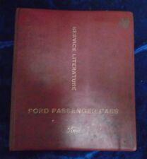 FORD ZODIAC, ZEPHYR V6 & ZEPHYR SERVICE LITERATURE by FORD MOTOR COMPANY Ltd