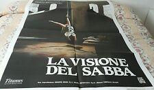 MANIFESTO CINEMA - LA VISIONE DEL SABBA