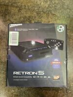 Hyperkin RetroN 5 HD Retro for Nintendo NES SNES Sega Genesis Gameboy Game Black