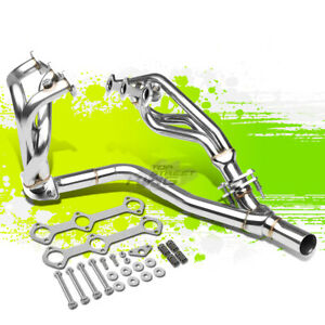 6-2-1 MID TUBE EXHAUST MANIFOLD HEADER+Y-PIPE FOR 93-95 CAMARO/FIREBIRD 3.4L