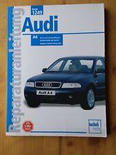 Audi A4 Benziner 1.6l und 1.8l 1999 bis 2001 Reparaturanleitung Handbuch