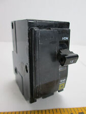 Square D 15 Amp Circuit Breaker QO Type Double Pole Electrical Replace SKU E T
