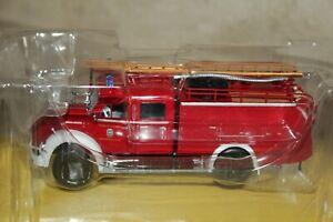 "Hachette Ixo Atlas BORGWARD b2500 ""pompiers volontaires Ismaning"" 1:43"