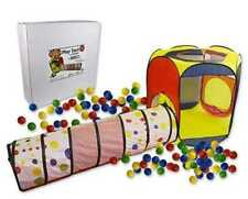 Play Tent with Tunnel & 100 Balls! by Imagination Playspace-NIB! Great for Kids