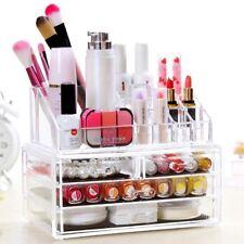 4 Schubladen Kosmetik Organizer Make-up Acryl Aufbewahrung Kosmetikbox