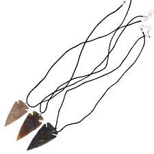 Canowicake 3 Piece Arrowhead Necklace Set Lot Native Style Design