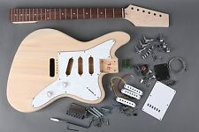 DIY 6 STRING JAZZMASTER JAGUAR STYLE ELECTRIC GUITAR COMPLETE BUILDER KIT