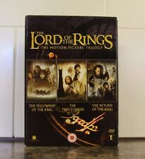 The Lord Of The Rings Trilogy DVD 2005 6-Disc Set Box Set Fellowship, Two Towers