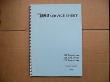 BSA  D1,D3,D5,D7.125,150.175. BANTAM FACTORY WORKSHOP MANUAL 1948 - 1966 Revised