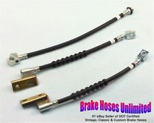 BRAKE HOSE SET Ford Falcon Sedan 1968 1969 1970 - Disc